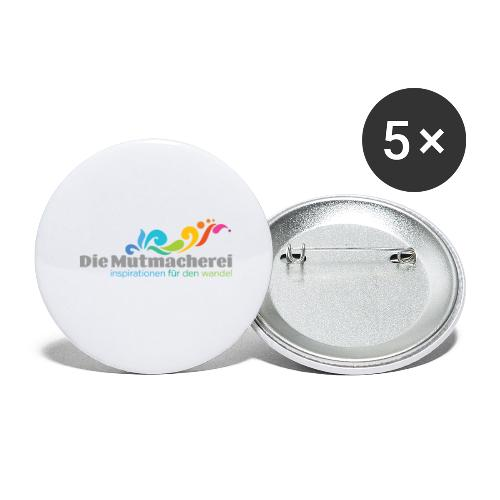 Fan-Artikel - Buttons groß 56 mm (5er Pack)