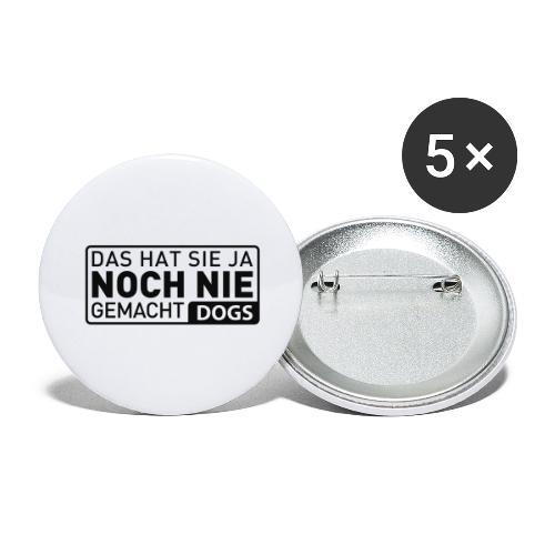 Martin Rütter - Das hat sie ja noch nie gemacht - Buttons groß 56 mm (5er Pack)