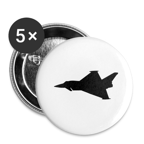 EF2000 Typhoon - Buttons large 2.2''/56 mm(5-pack)