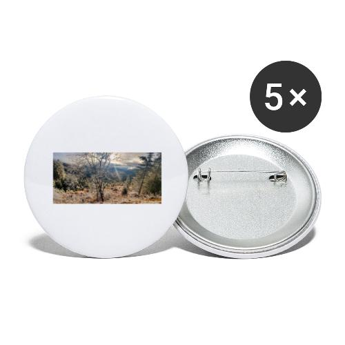 in the Wood - Buttons groß 56 mm (5er Pack)