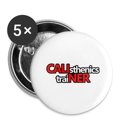 Caliner T-shirt - Confezione da 5 spille grandi (56 mm)