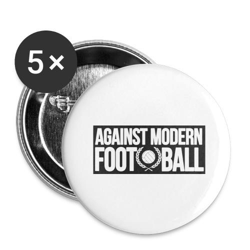 #AgainstModernFootball - Stora knappar 56 mm (5-pack)