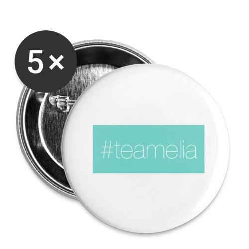 #teamelia - Buttons groß 56 mm (5er Pack)