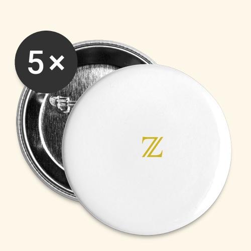 zaffer - Confezione da 5 spille grandi (56 mm)
