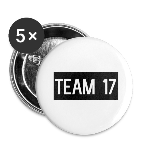 Team17 - Buttons large 2.2''/56 mm(5-pack)
