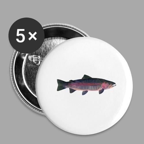 Trout - Rintamerkit isot 56 mm (5kpl pakkauksessa)