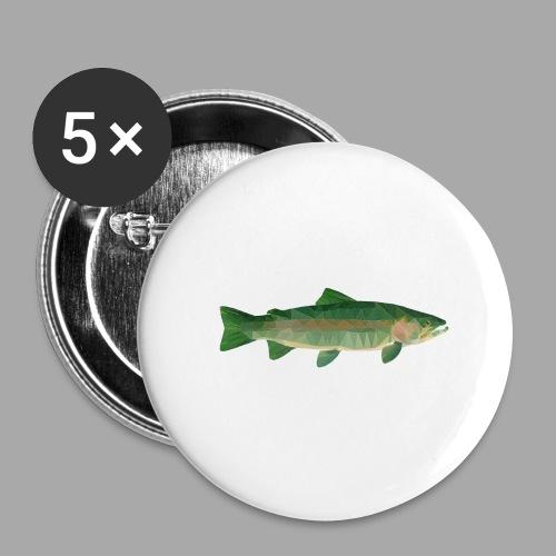 Mystical Trout - Rintamerkit isot 56 mm (5kpl pakkauksessa)