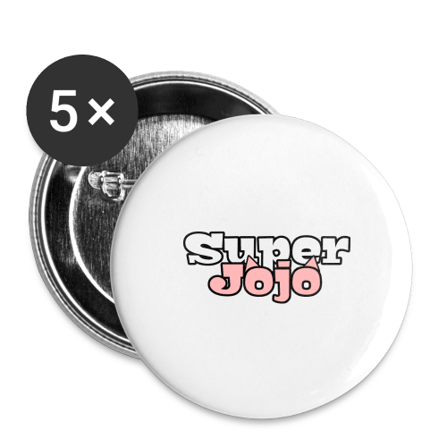 SuperJojo - Buttons large 2.2''/56 mm (5-pack)
