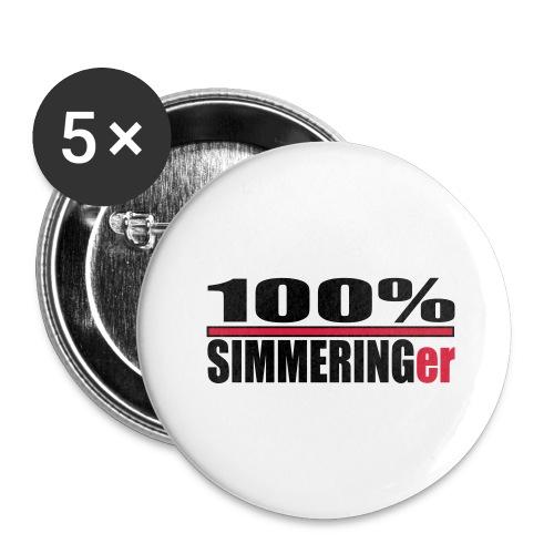wien, simmeringer - Buttons groß 56 mm (5er Pack)