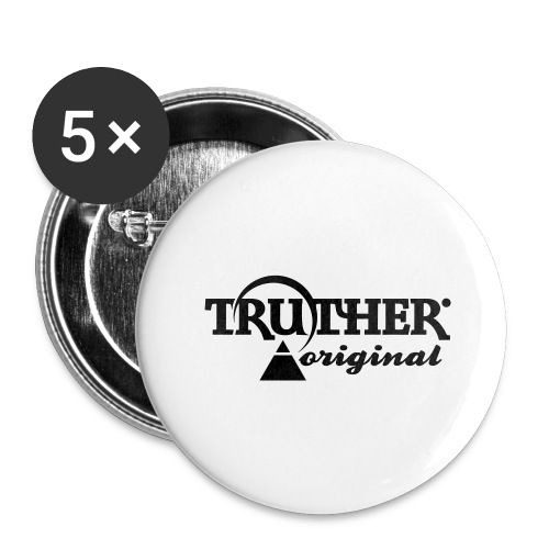 Truther - Buttons groß 56 mm (5er Pack)