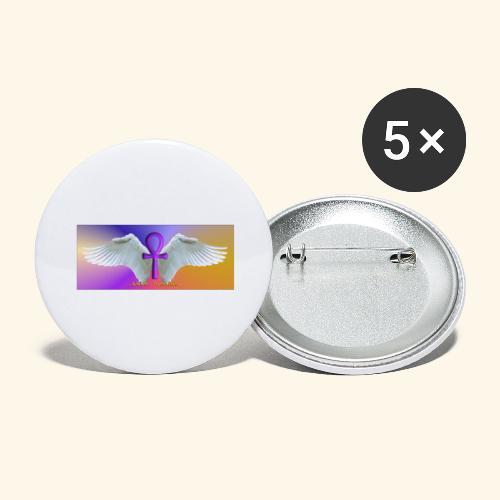 ANKH Logo - Buttons groß 56 mm (5er Pack)