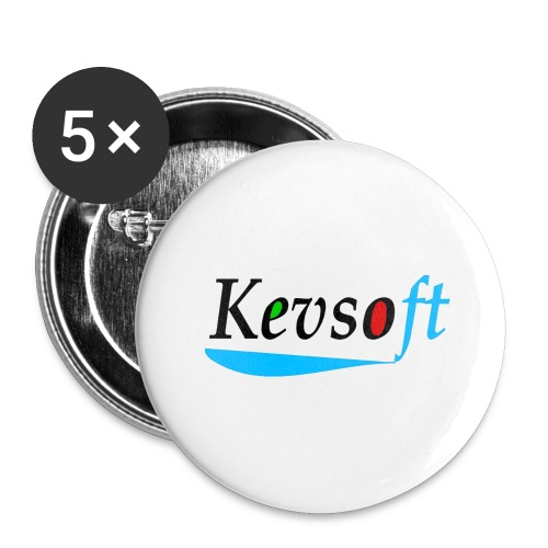 Kevsoft - Buttons large 2.2''/56 mm(5-pack)