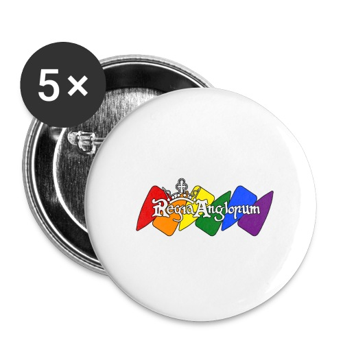 Pride Kite - Buttons large 2.2''/56 mm (5-pack)