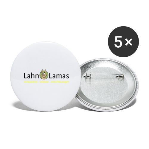 Lahn Lamas - Buttons groß 56 mm (5er Pack)
