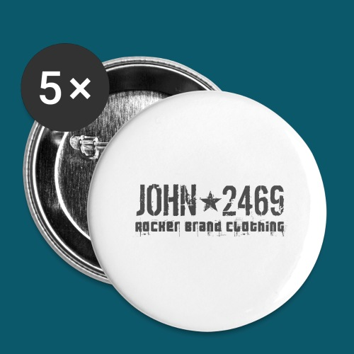 JOHN2469 prova per spread - Confezione da 5 spille grandi (56 mm)