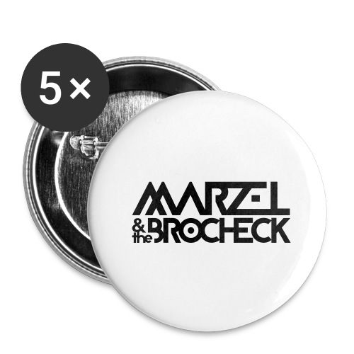 Marzel And The Brocheck - Buttons groß 56 mm (5er Pack)