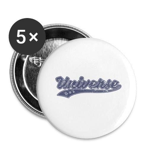 Universe Vintage - Lot de 5 grands badges (56 mm)