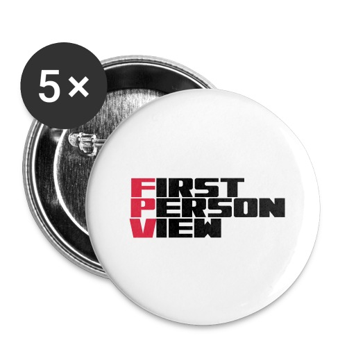 First Person View - Buttons large 2.2''/56 mm (5-pack)