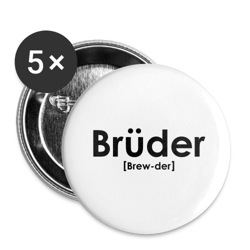 Brüder IPA - Buttons large 2.2''/56 mm (5-pack)