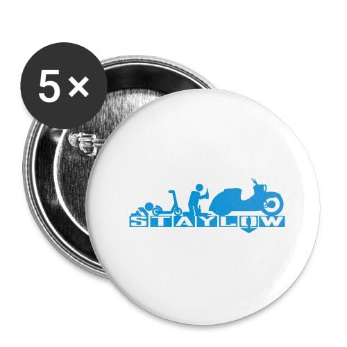 STAYLOW Bier - Buttons groß 56 mm (5er Pack)
