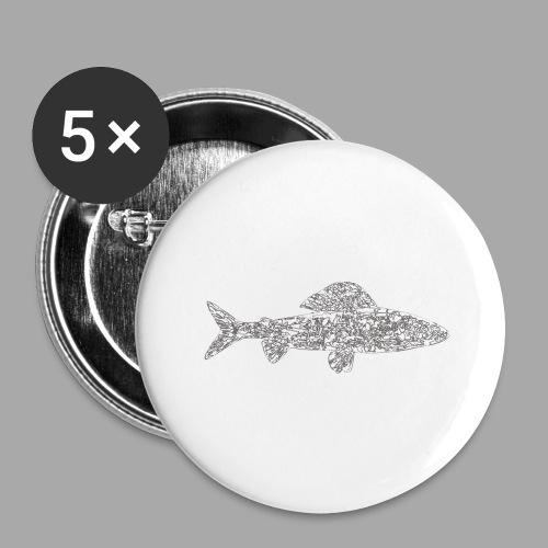 grayling - Rintamerkit isot 56 mm (5kpl pakkauksessa)