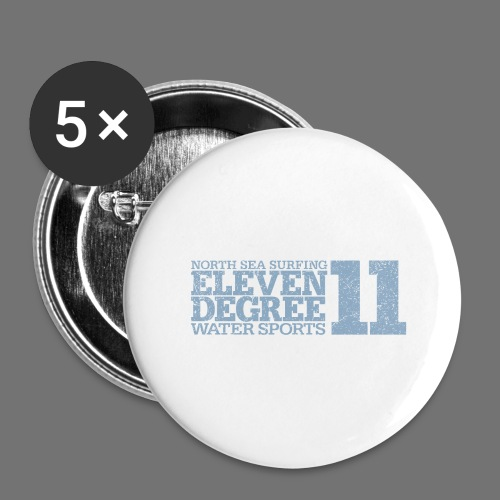 eleven degree light blue (oldstyle) - Buttons large 2.2''/56 mm(5-pack)