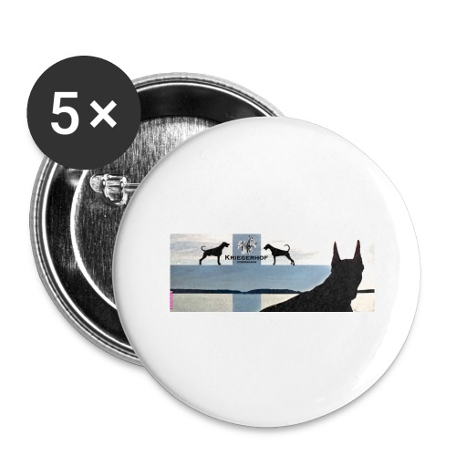 FBtausta - Rintamerkit isot 56 mm (5kpl pakkauksessa)