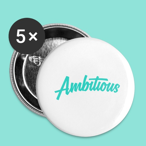 Ambitious - Buttons groot 56 mm (5-pack)
