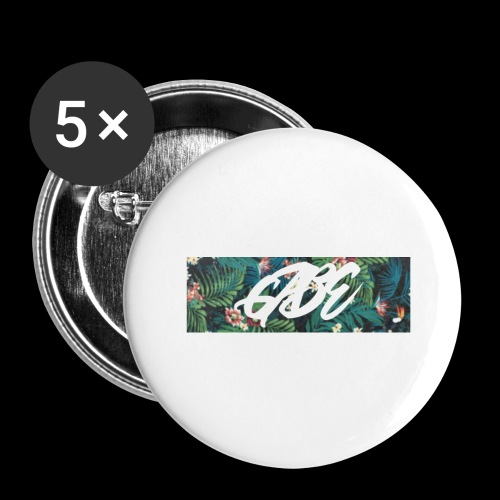 GABE FLOW - Buttons groß 56 mm (5er Pack)