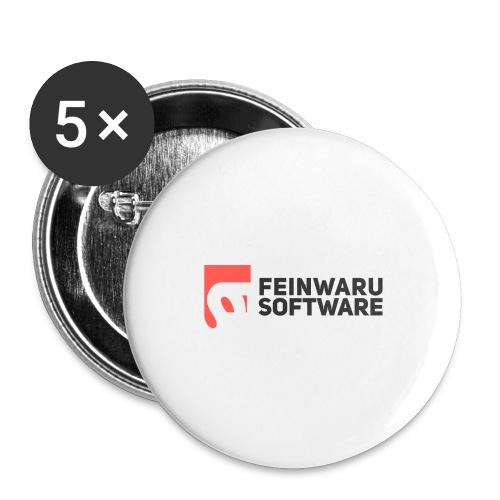 Feinwaru Full Logo - Buttons large 2.2''/56 mm(5-pack)