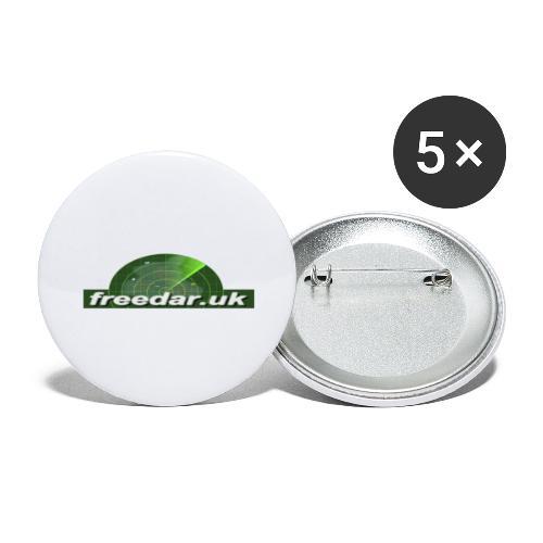 Freedar - Buttons large 2.2''/56 mm(5-pack)
