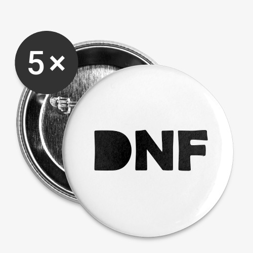 dnf - Buttons groß 56 mm (5er Pack)