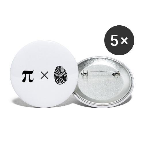 pimaldaumen - Buttons groß 56 mm (5er Pack)