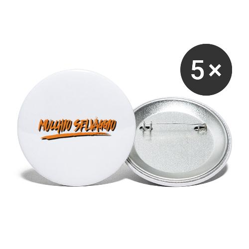 Mucchio Selvaggio 2016 Dirty Orange - Confezione da 5 spille grandi (56 mm)