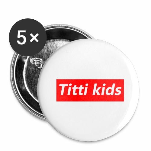 tittibogo - Stora knappar 56 mm (5-pack)