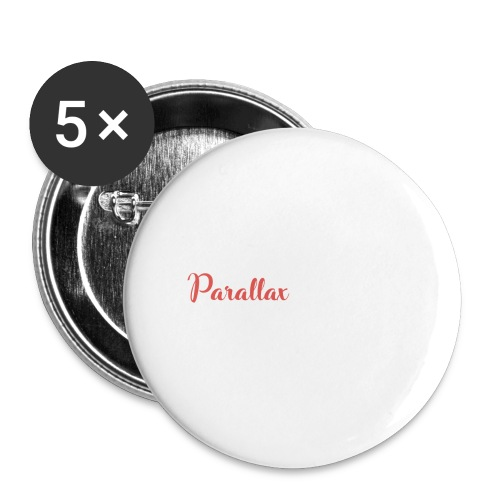 Parallax Mineworks logo - Buttons large 2.2''/56 mm (5-pack)