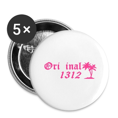 Original 1312 - Buttons groß 56 mm (5er Pack)