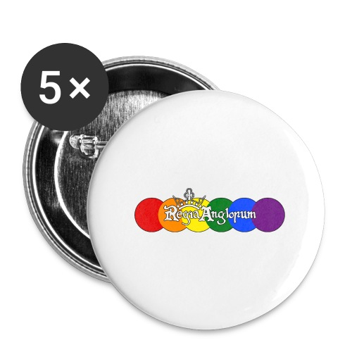 Pride Rounds - Buttons large 2.2''/56 mm (5-pack)