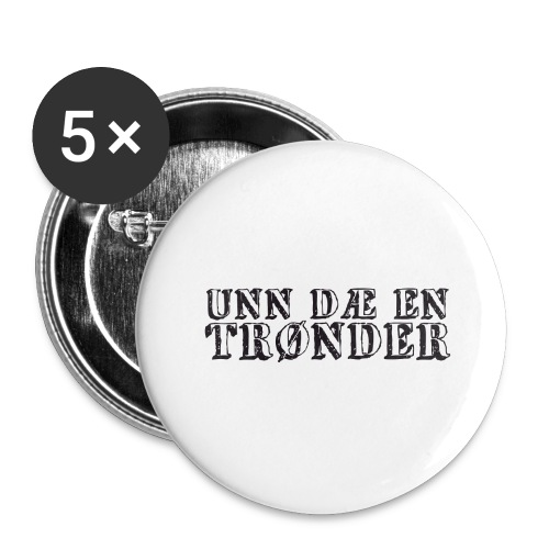 unndae - Stor pin 56 mm (5-er pakke)