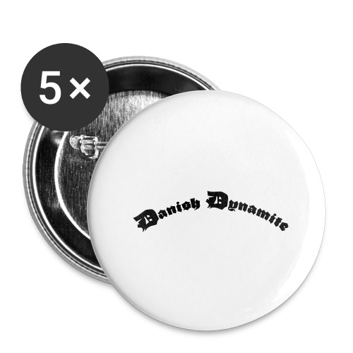 Danish Dynamite - Buttons/Badges stor, 56 mm (5-pack)