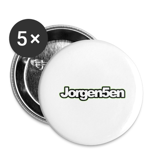 tshirt - Buttons/Badges stor, 56 mm (5-pack)