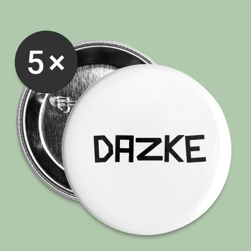 dazke_bunt - Buttons groß 56 mm (5er Pack)