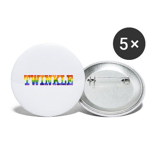 twinkle - Buttons large 2.2''/56 mm(5-pack)