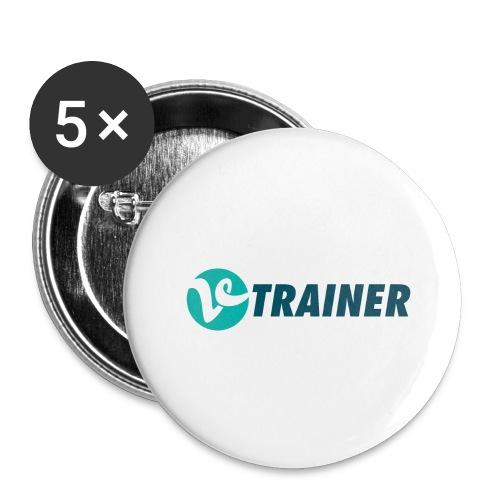 VTRAINER - Paquete de 5 chapas grandes (56 mm)