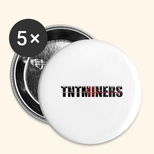 TNTMINERS ANNAN FÄRG 3 - Stora knappar 56 mm (5-pack)