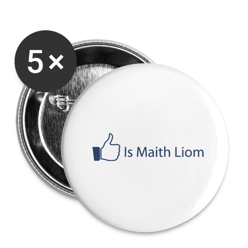 like nobg - Buttons large 2.2''/56 mm(5-pack)