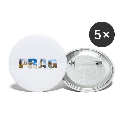 Prag CZ Sights - Buttons groß 56 mm (5er Pack)