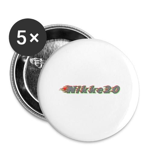 Nikke20 - Rintamerkit isot 56 mm (5kpl pakkauksessa)