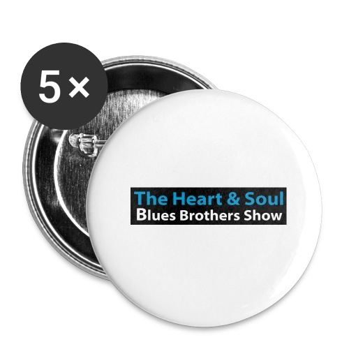 Heart & Soul Logo 2020 - Buttons large 2.2''/56 mm(5-pack)