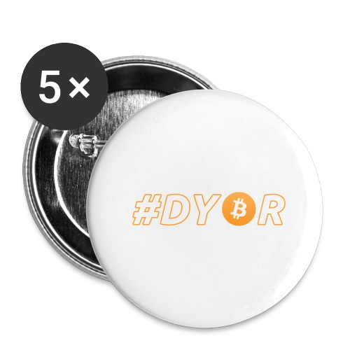 DYOR - option 3 - Buttons large 2.2''/56 mm(5-pack)